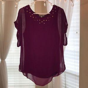 Purple Jospeh A blouse